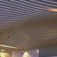 木纹异形铝方通_弧形方通的波浪设计