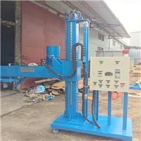全自动铝水精炼除气机 移动式喷粉除气机