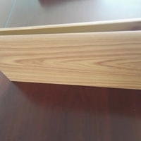 杭州安装简便U型铝方通吊顶 木纹铝方通天花