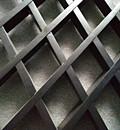棱形铝格栅天花-葡萄架格栅方通吊顶厂家