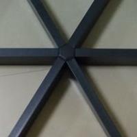 供白色三角铝格栅天花吊顶材料厂家价格