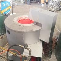 100公斤熔铝炉 广东天燃气熔铝炉厂家