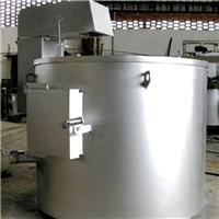 300公斤天燃气熔铝炉 坩埚式熔铝炉