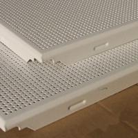 供应铝扣板 对角冲孔铝扣板吊顶