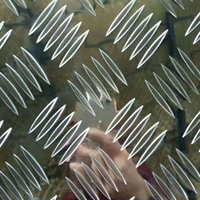4毫米五条筋压花铝板