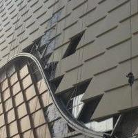 戶外金屬幕墻鋁單板-廣告牌收邊鋁單板