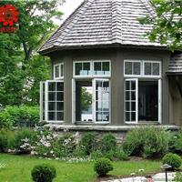 高档别墅铝合金门窗制作安装