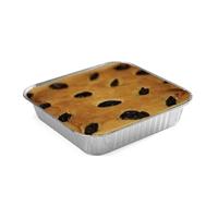 热销 单格方形蛋糕锡箔盒 一次性快餐盒