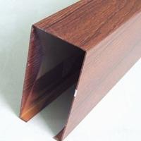海南铝方通供应商,海南木纹铝方通吊顶-