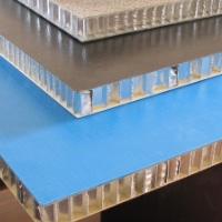 专利生产单曲面,双曲面木纹铝蜂窝芯复合板