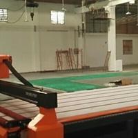 深圳龙岗大型铝板切割机图片