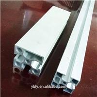 定制各种表面处理铝柜 抛光打磨工业铝型材