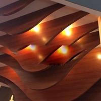 长期可定制弧形装饰铝方通幕墙吊顶