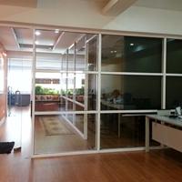 玻璃隔断铝材厂家成批出售办公玻璃高隔间铝型材