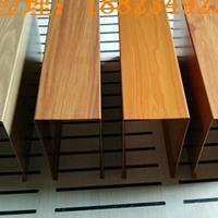 木纹型材铝方通-木纹铝方管-铝方管木纹厂家