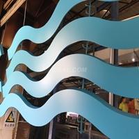 德普龍品牌涂層設計高端弧形造型吊頂鋁方通