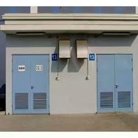 铝合金变压器门、配电房铝合金折叠门