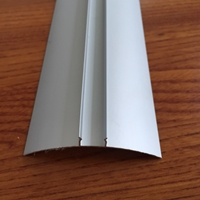 氧化银白净化铝型材内圆弧