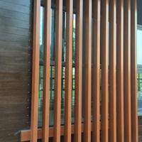 铝方通吊顶-木纹 铝方通 -铝格栅 天花厂家