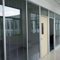 83款内钢外铝隔断隔墙铝型材及全钢隔断型材
