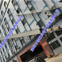 五楼仓库往下自动出货装车传送带