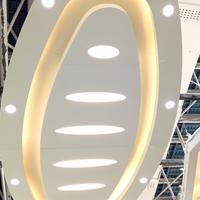 弧形双曲铝单板 外墙造型冲孔铝单板