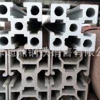 4080欧标圆孔加厚工业铝型材 铝型材