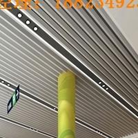 大型商場天花吊頂波浪弧形鋁方通裝飾材料