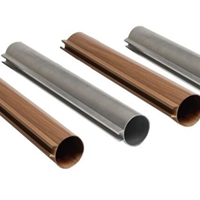 供應安徽木紋鋁方管 吊頂鋁方通 鋁方通廠家
