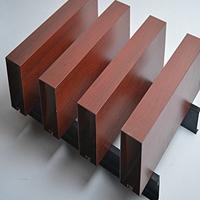 商店门头四方管铝方通-铝格栅材料价格