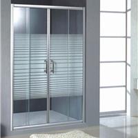 淋浴房隔断屏风定制LR-005 钢化玻璃浴室门