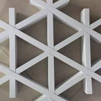 供應型材三角鋁格柵吊頂 三角形鋁格柵規格