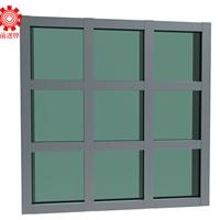 批发140系列明框幕墙铝型材