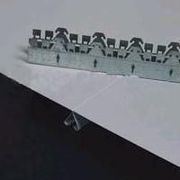 高边防风铝条扣板工程铝条扣厂家