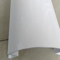 加油站柱子1.8mm型材包柱铝圆角、包柱铝板条