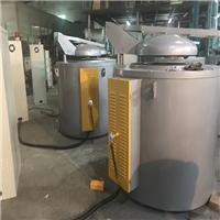 供应300公斤熔炼炉 熔铝炉 机边保温炉