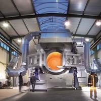 再生鋁 環保 傾翻式 回轉爐