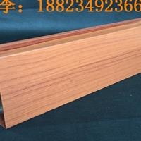 專業生產木紋鋁方管 外墻鋁方通 鋁方管型材