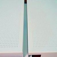 汽车4s店装饰产品传祺白色镀锌钢板吊顶