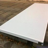 传祺4S店展厅白色微孔镀锌钢板吊顶