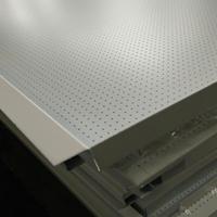 供应传祺4s店装饰产品 白色微孔镀锌钢板