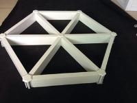 三角铝格栅厂家 型材铝格栅吊顶