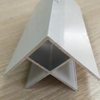 净化房用净化铝型材方型外圆