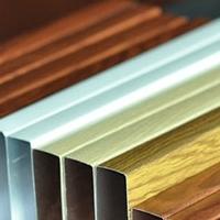 供应开口铝方通_50x100铝方通粉末喷涂