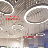 弧形铝方通厂家直供 铝方通吊顶专业定制
