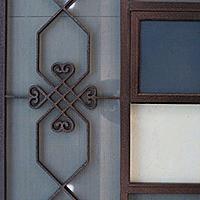 门头窗外仿古铝窗花-雕花铝单板幕墙