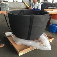 1000公斤碳化硅石墨坩埚 熔铝石墨坩埚