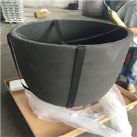 200公斤熔铝石墨坩埚 维苏威石墨坩埚