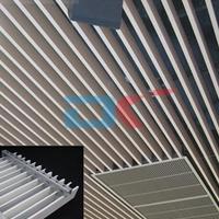 办公室铝扣板吊顶-铝方通吊顶-铝天花厂家