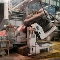 廠家定做大型鋁水包自動翻轉傾倒平臺